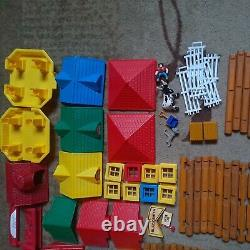 276 pieces Wooden Lincoln Logs Rocky Mountain Ranch, Frontier Junction, store
