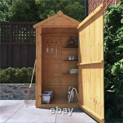 3x2 BillyOh Tongue and Groove Garden Log Store Sentry Box Grande Outdoor Wooden