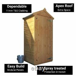 3x2 BillyOh Tongue and Groove Garden Log Store Sentry Box Petite Outdoor Wooden