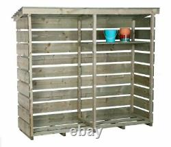 Bentley FSC Wooden Large Log Store failed delivery, courier returned