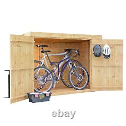 BillyOh Mini Keeper Overlap Bike Store Garden Storage Wooden Shed Log Store 6x3