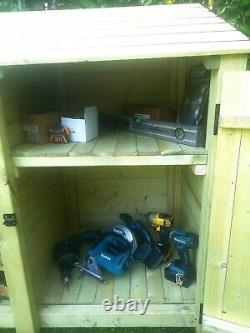 Cottesmore Outdoor Wooden Log Store Available With Doors