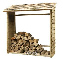 Forest Wooden Wall Log Store Pressure Treated Outdoor Timber Wood Store