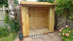 Handmade Wooden Made to Order Unique Log Store