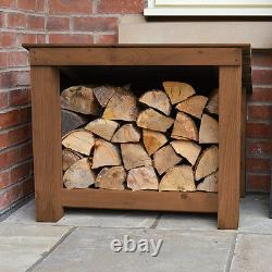 Langham Minor Outdoor Wooden Logstore Heavy Duty