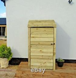 Log Store 6ft Wooden Garden Shed Reverse Roof W-990mm x H-1800mm x D-810mm