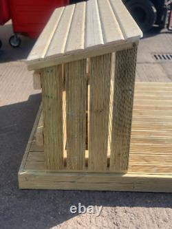 Premium Heavy Duty Wooden Log Store
