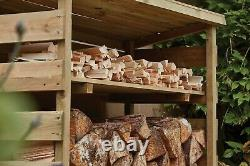 Simply Wood Wooden Log Store
