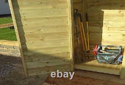 Tool Store and Log Store W-2270mm x H-1260 and 1800mm x D-810 Wooden Heavy Duty