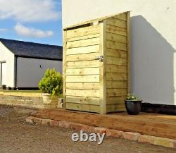 Tool Store and Log Store Wooden Shed W-990mm x H-1260mm and 1800mm x D- 810mm