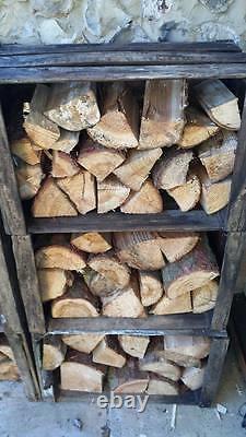 VINTAGE WOODEN APPLE FRUIT CRATES X 6 Log Store Timber Store Wood Burner