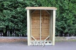 Wooden LOG STORE 6FT H X 4FT W (LS6X4)