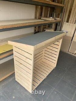 Wooden Log Store Garden Storage Log Store 5ft