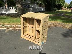 Wooden log store, custom made to measure, see item description before buying