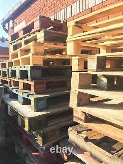 1 Palette En Bois Pour Meubles Intérieurs/extérieurs, Log Burner/log Store, Escrime
