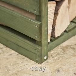 Bois Log Garden Magasin De Stockage De Bois De Chauffage Kingfisher Lstore