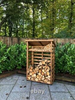 Charles Taylor Wood Log Magasin De Bois Plateau De Kindling Jardin Stockage Moyen