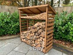 Charles Taylor Wood Log Magasin De Bois Plateau De Kindling Stockage De Jardin Grand