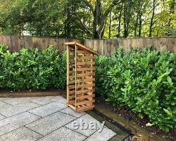 Extra Grand Magasin De Bois De Bois De Bois De Chauffage Bois De Bois De Bois De Stockage Shed Garden