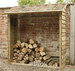 Forest Wooden Wall Log Store Pression Traitée Outdoor Timber Wood Store