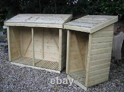 Heavy Duty Shiplap Wooden Log/wood Store/shed Top Qualité