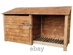 Magasin D'outils Et Log Store W-2270mm X H-1260 Et 1800mm X D-810 Wooden Heavy Duty