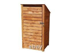 Magasin D'outils Et Log Store Wooden Shed W-990mm X H-1260mm Et 1800mm X D- 810mm