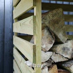 Mercia Single Wooden Log Store