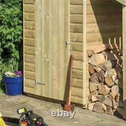 Rowlinson 4x3 Oxford Shed Wooden Garden Shed Entreposage Et Magasin De Bois Log